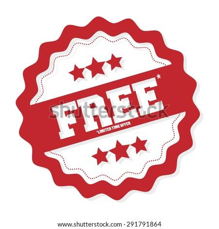 free free badge free tag