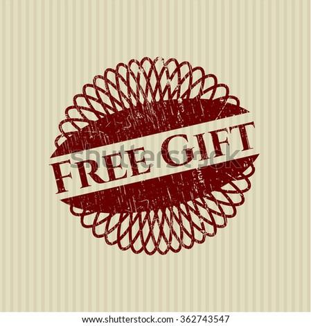 Free Gift grunge seal