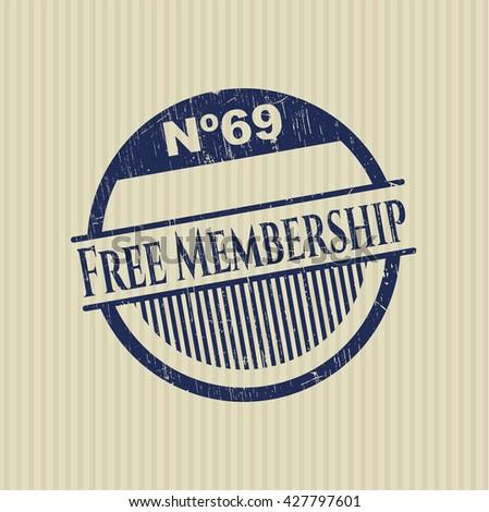 Free Membership rubber texture