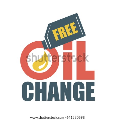 free oil change vector