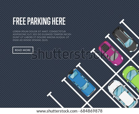 free parking here poster in