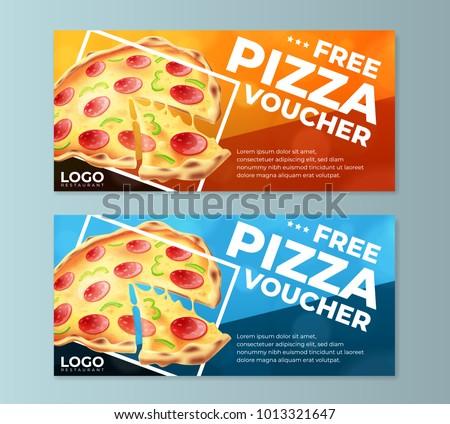 Free Pizza Voucher Templates
