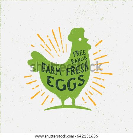 free range farm fresh eggs....