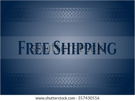 Free Shipping colorful card