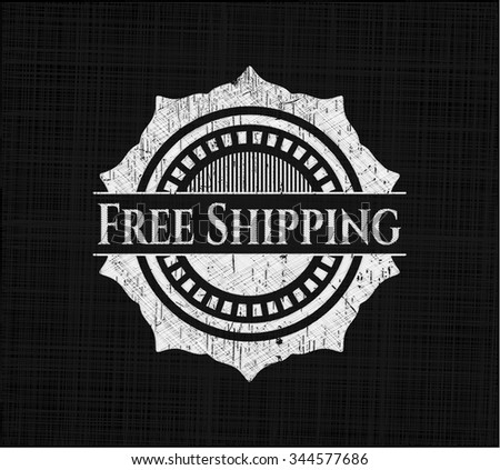Free Shipping on chalkboard