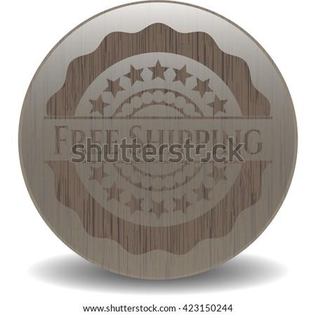 Free Shipping realistic wood emblem