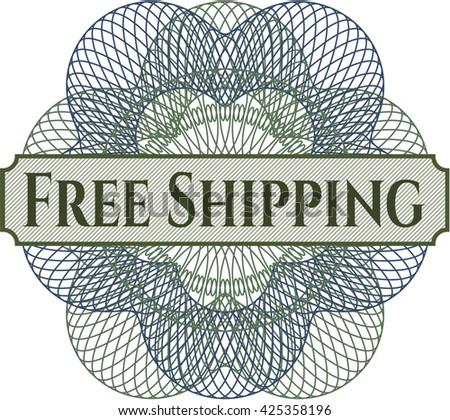 Free Shipping rosette or money style emblem