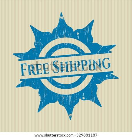 Free Shipping rubber grunge stamp