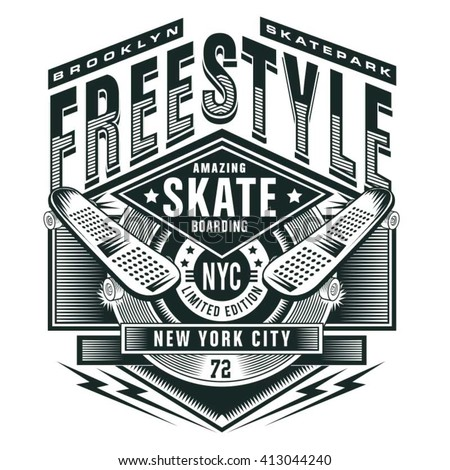 free style skate sport
