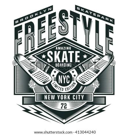 free style skate sport