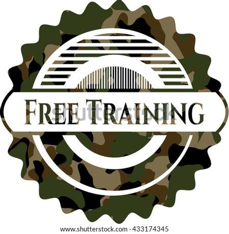 Free Training on camo texture