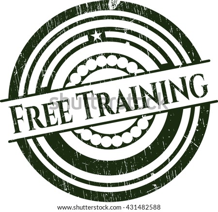Free Training rubber grunge seal