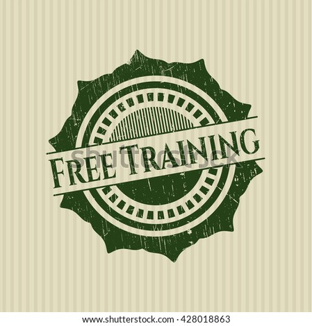 Free Training rubber stamp