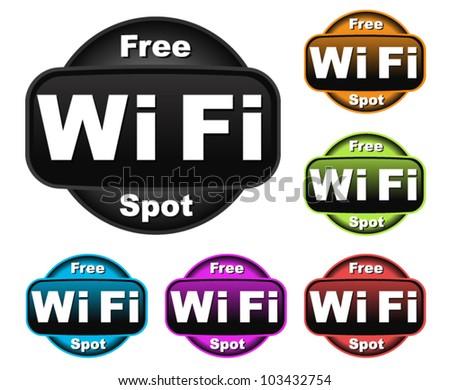 Free Wifi Symbols
