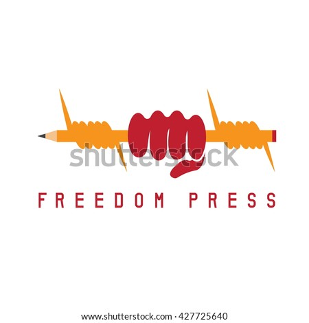 freedom press concept with