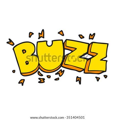 freehand drawn cartoon buzz
