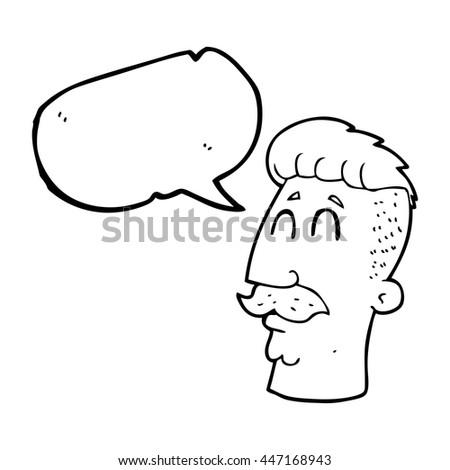 Black And White Cartoons Hair Cut. Black. Get Free Printable ...