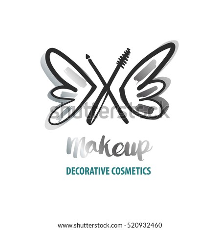 freehand drawn vector logo for