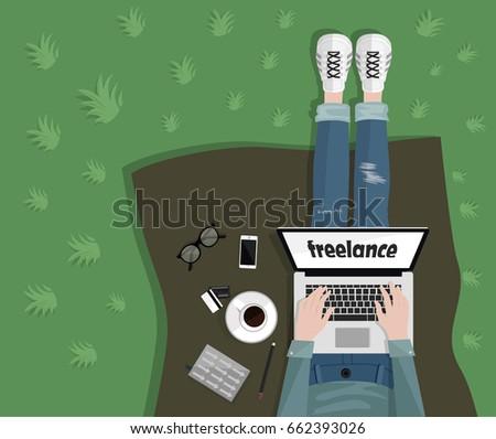 freelance concept freelancer