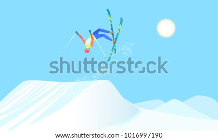 freestyle skiing  winter sport