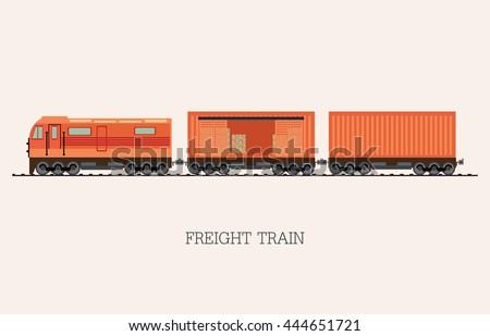 freight train cargo cars
