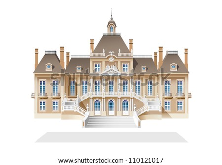 French baroque castle