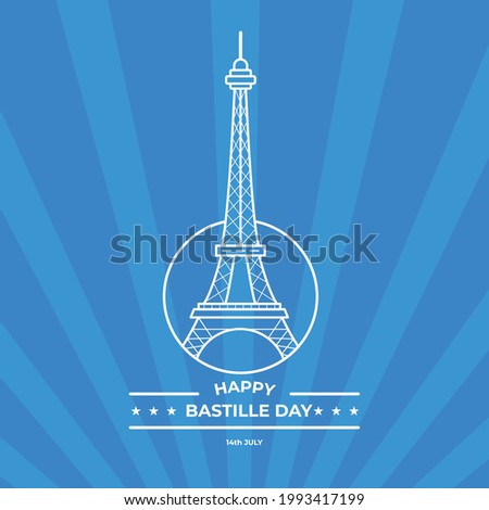 french bastille day simple