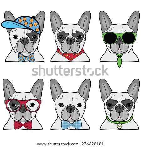 French bulldog incons
