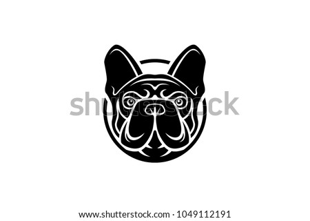 French Bulldog Logo