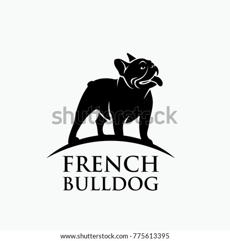 French bulldog - vector illustration