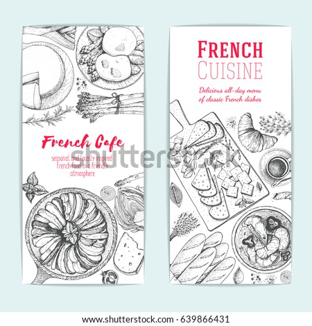 french food design template