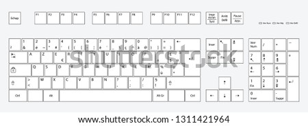 French Keyboard Layout Clavier Français