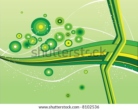 Fresh design - stock vector