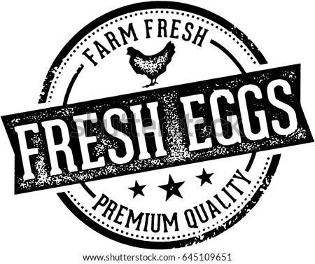 Fresh Eggs Vintage Farm Sign