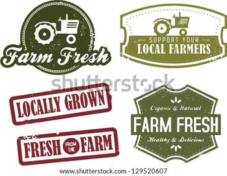 fresh farm produce and locally...