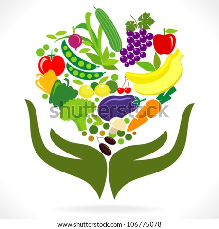 Fresh Fruits and Vegetables - Health in your Hands