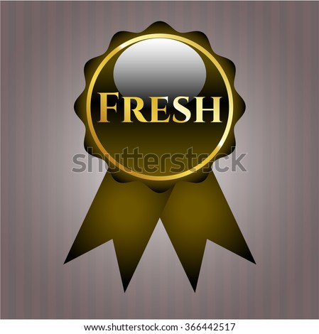 Fresh gold badge
