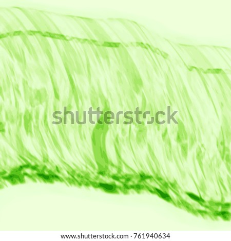 fresh green abstract watercolor