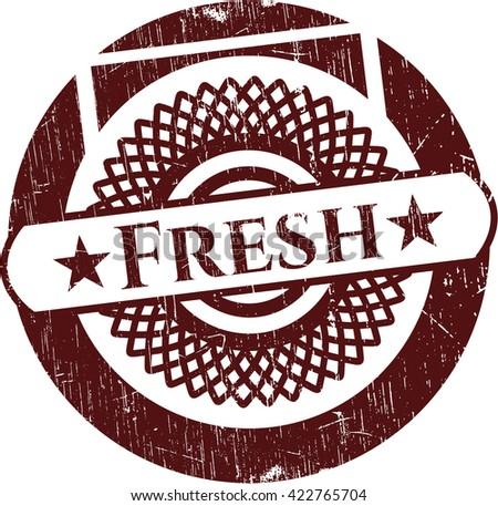 Fresh grunge stamp