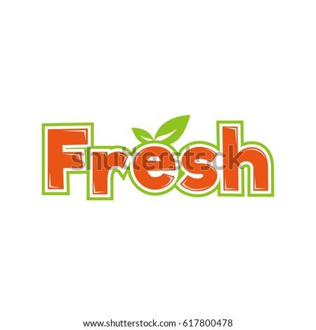 fresh logo logotype