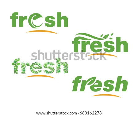 Fresh Logos of green leaf ecology nature element vector icon