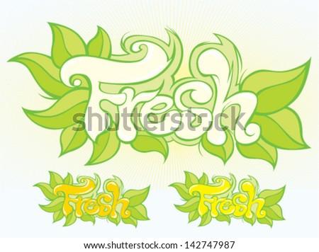 fresh logotype