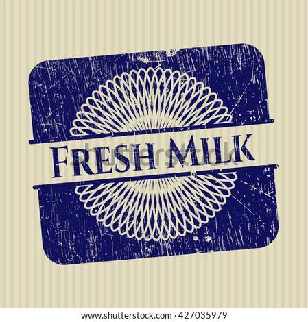 Fresh Milk rubber grunge seal