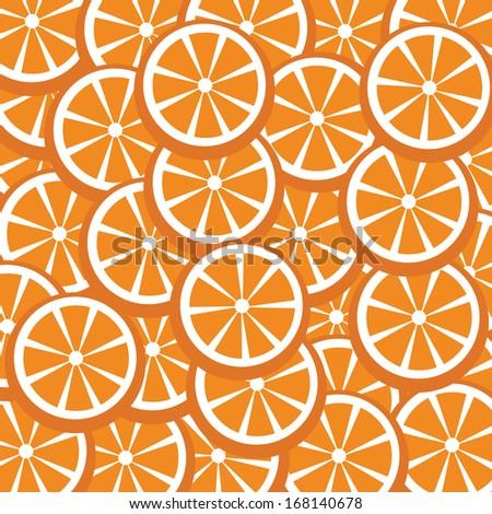 fresh oranges vector for background