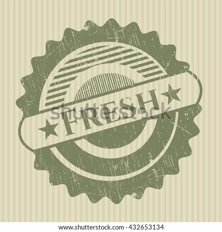 Fresh rubber grunge texture seal