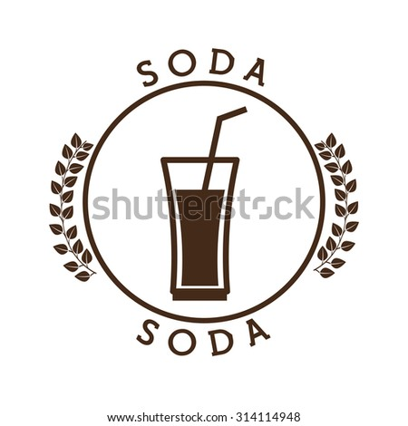 fresh soda design, vector illustration eps10 graphic