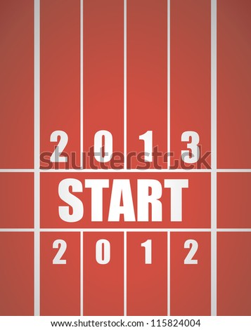 Fresh start 2013 concept with running track.