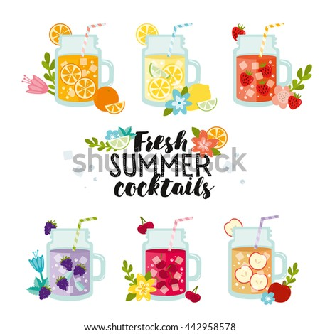 fresh summer cocktails