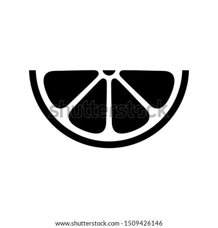 fresh symbol  citrus icon