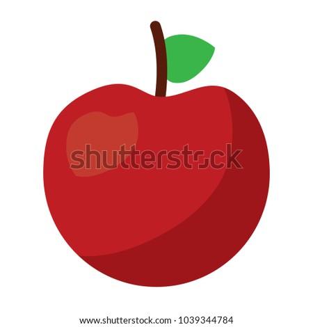 fresh tasty fruit apple nutrition diet